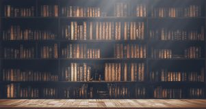 Free Blurred Bookshelf Many Old Books In A Book Shop Or Library Stock Images - 162908984