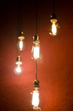 Blurred bulbs Royalty Free Stock Images