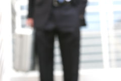 Blurred business man Royalty Free Stock Images
