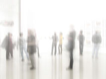 Blurred business people Royalty Free Stock Photography