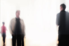 Blurred business people Stock Photography