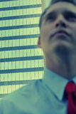 Blurred Businessman Stock Photo