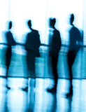 Blurred businesspeople Stock Images