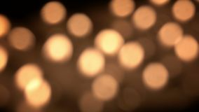 Blurred candles stock footage