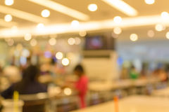 Blurred Canteen Royalty Free Stock Images