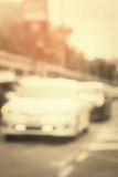 Blurred of car Royalty Free Stock Images