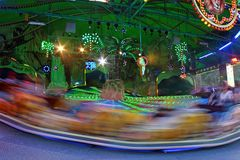 Blurred carousel Royalty Free Stock Images
