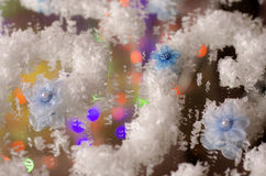 Blurred Christmas background. royalty free stock images