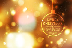 Blurred christmas background Royalty Free Stock Image