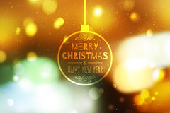 Blurred christmas background Royalty Free Stock Images