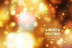 Blurred christmas background Stock Photo