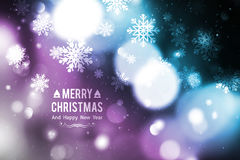 Blurred christmas background Stock Images