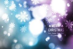 Blurred christmas background Stock Image