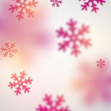 Blurred christmas background. Stock Photography