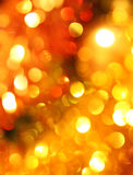 Blurred christmas lights Royalty Free Stock Photo