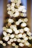 Blurred Christmas lights. Stock Photography