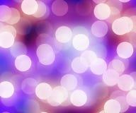 Blurred christmas lights Stock Photos