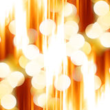 Blurred christmas lights Stock Photo