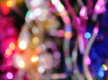 Blurred christmas lights background Stock Photography