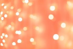 Blurred Christmas lights background stock images