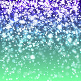 Blurred Christmas Lights for Xmas Holiday Design Royalty Free Stock Image