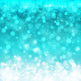Blurred Christmas Lights for Xmas Holiday Design Royalty Free Stock Images
