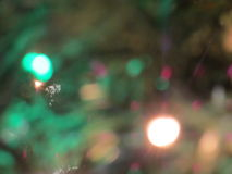 Blurred Christmas ornaments. Abstract background of blurry christmas ornaments Stock Photography
