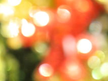 Blurred christmas ornaments. Abstract background of blurry christmas ornaments Royalty Free Stock Images
