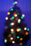 Blurred Christmas Tree Stock Photos
