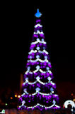 Blurred christmas tree lights Royalty Free Stock Photos