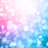 Blurred Christmas Vector Background Stock Image