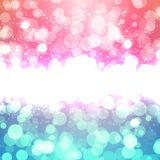 Blurred Christmas Vector Background Royalty Free Stock Images