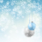 Blurred christmas winter background, illustration Stock Photo
