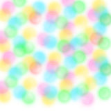 Blurred circles white background Royalty Free Stock Image