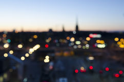 Blurred city background Royalty Free Stock Photography