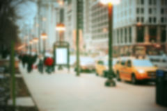 Blurred city background Stock Photos