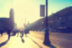 Blurred city background Royalty Free Stock Photo