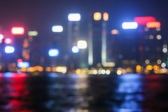 Blurred city light with bokeh background. Blurred city light with bokeh background, Abstract background stock images