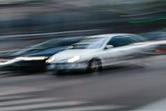 Blurred City Scene Stock Image