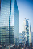 Blurred city tilt shift Royalty Free Stock Image