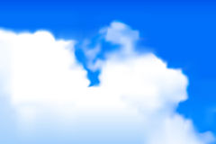 Blurred clouds Royalty Free Stock Photo