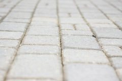 Blurred cobblestones Royalty Free Stock Photography