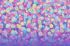 Blurred a coloré des boules Photo libre de droits