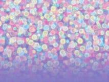 Blurred a coloré des boules Image libre de droits
