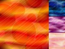 Blurred a coloré le fond avec l'effet de bokeh Photos stock