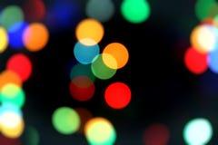 blurred color lights Στοκ Φωτογραφία