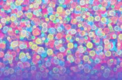 Blurred colored balls. Abstract illustration of blurred colored balls Royalty Free Stock Photo