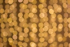 Blurred colored circles on a light holiday background royalty free stock image