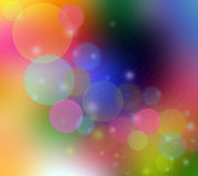 Blurred colored light background Royalty Free Stock Photos