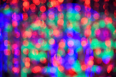 Blurred colorful abstract bokeh background Royalty Free Stock Photo